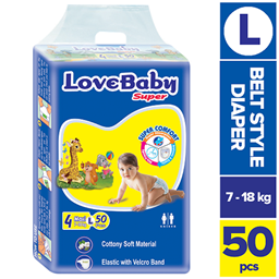Picture of Love Baby Super Diaper 4 Maxi Belt L 7-18 kg