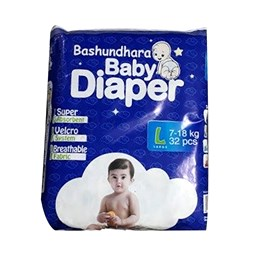 Picture of Bashundhara Baby Diaper Belt ST Series L 7-18 kg