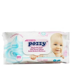 Picture of Pozzy Baby Wet Towel Wipes