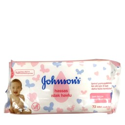 Picture of Johnson's Extra Sensitive Baby Wipes