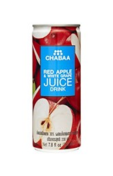 Picture of Red apple juice 230 ml [chabaa]