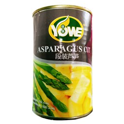 Picture of ASPARAGUS CUT 430 GM [YOWE]