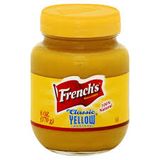Picture of Yellow mustard glass 255gm [French]
