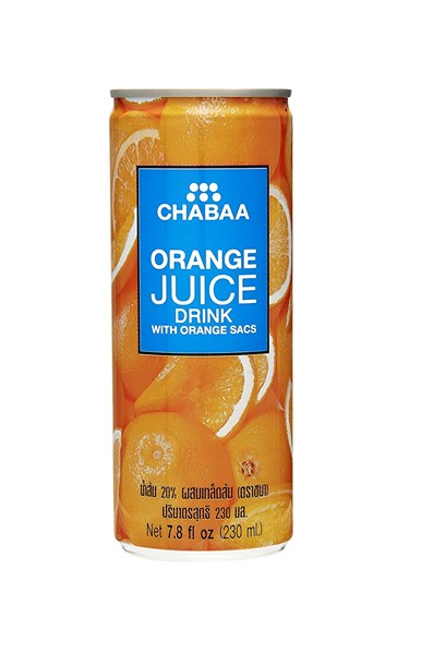 Picture of Chabaa can drinks - [mango, orange, apple, mixed]