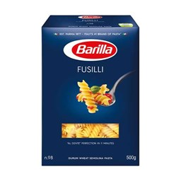 Picture of Barilla Durum Wheat Pasta Fusilli